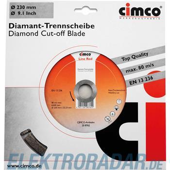 Cimco Diamanttrennscheibe 20 8762