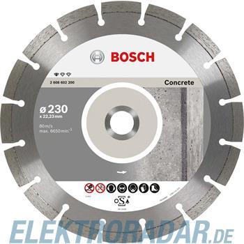 Bosch Diamanttrennscheibe 2 608 602 198