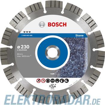 Bosch Diamanttrennscheibe 2 608 602 645