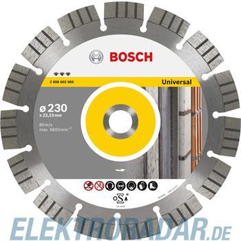 Bosch Diamanttrennscheibe 2 608 602 666