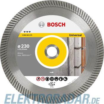 Bosch Diamanttrennscheibe 2 608 602 671
