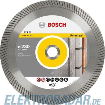 Bosch Diamanttrennscheibe 2 608 602 674