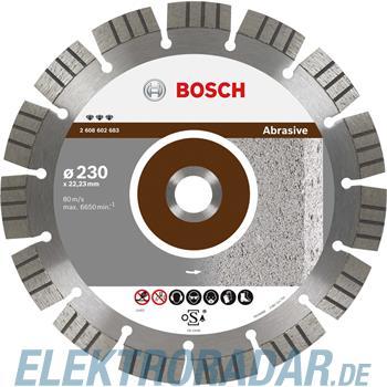 Bosch Diamanttrennscheibe 2 608 602 679