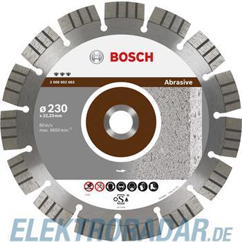Bosch Diamanttrennscheibe 2 608 602 683