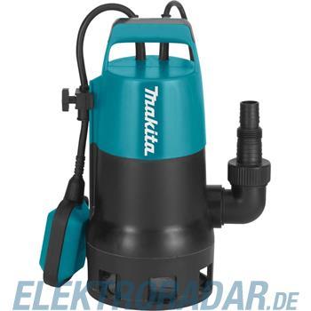 Makita Tauchpumpe Schmutzwasser PF0410