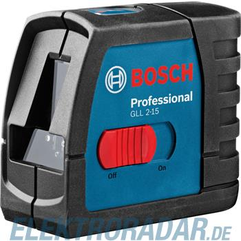 Bosch Linienlaser GLL 2-15 Profess.