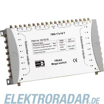 Triax Multischalter TMS 17x16T