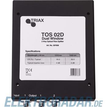 Triax Optischer Verteiler 2f. TOS 02 D