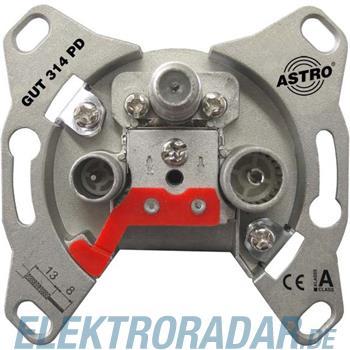 Astro Strobel Antennensteckdose GUT 314 PD