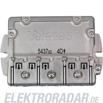Televes (Preisner) Easy-F-Verteiler 4f. EFV 4