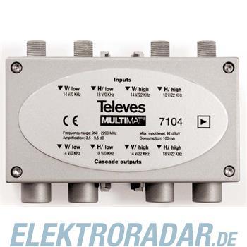 Televes (Preisner) SAT-ZF-Verstärker 4fach MSV 44 M