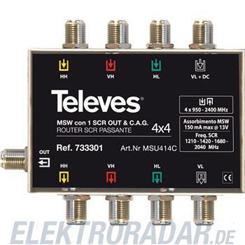 Televes (Preisner) Multischalter Unicable MSU 414 C