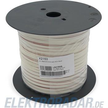 Televes (Preisner) LS-Kabel 2x1,5mm LS 215 WS