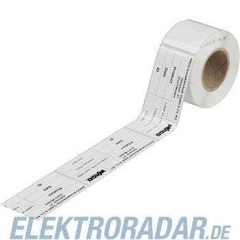 WAGO Kontakttechnik Etikett ws 210-803