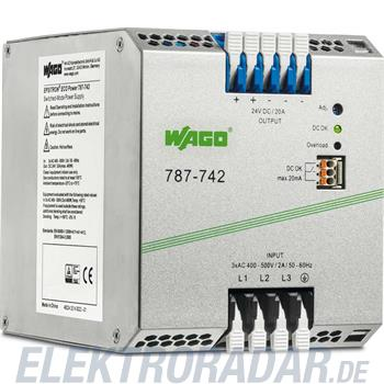 WAGO Kontakttechnik Stromversorgung 787-742