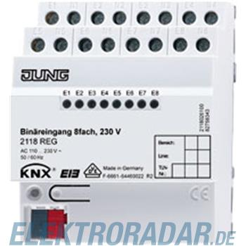 Jung KNX Binäreingang 8-fach 2118 REG