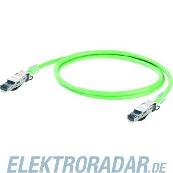 Weidmüller Schleppkettenkabel 1m IEC5DD4UG0010A20A20E