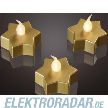 Hellum Glühlampenwer LED-Dekolicht Stern 3er 571141