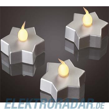Hellum Glühlampenwer LED-Dekolicht Stern 3er 571158