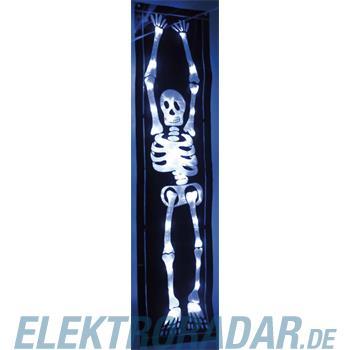 Hellum Glühlampenwer LED-Skelett Folie H:90cm 376012