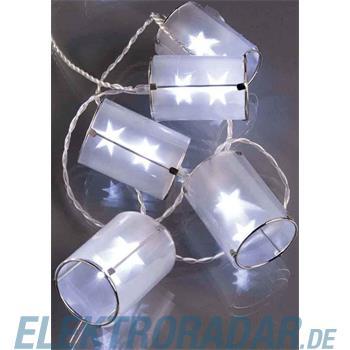 Hellum Glühlampenwer LED-Kette mit Laternen 564174