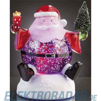 Hellum Glühlampenwer LED-Weihnachtsmann H:13cm 567175