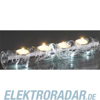 Hellum Glühlampenwer LED-Glas-Kerzenhalter si. 571721