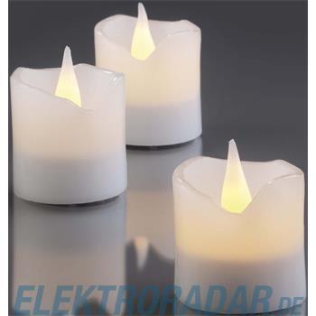 Hellum Glühlampenwer LED-Wachskerzen H:4,2cm 572100