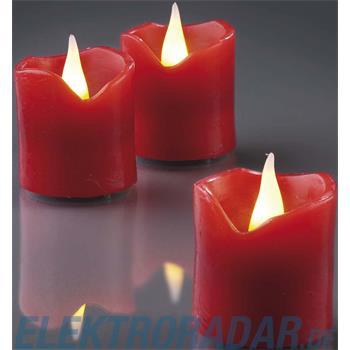 Hellum Glühlampenwer LED-Wachskerzen H:4,2cm 572117