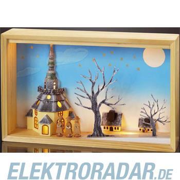 Hellum Glühlampenwer LED-Stimmungsbild KIRCHE 878615