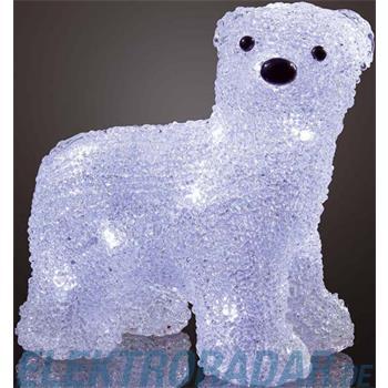 Hellum Glühlampenwer LED-Eisbär stehend 575125