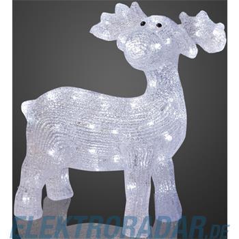 Hellum Glühlampenwer LED-Rentier 575286