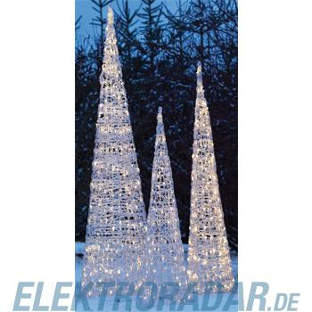 Hellum Glühlampenwer LED-Acryl-Pyramide 568318