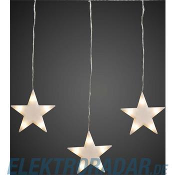 Hellum Glühlampenwer LED-Sternenvorhang 506006