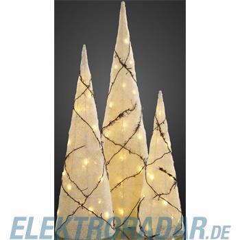 Hellum Glühlampenwer LED-Pyramide 3er-Set 592832