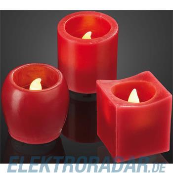Hellum Glühlampenwer LED-Wachskerze 6er-Set 572193