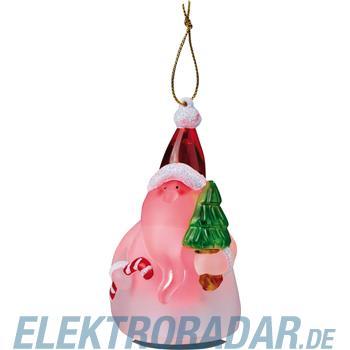 Hellum Glühlampenwer LED-Weihnachtsmannfigur 567540