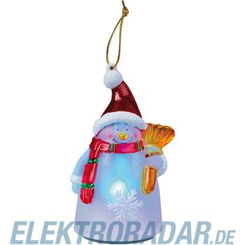 Hellum Glühlampenwer LED-Schneemannfigur 567557