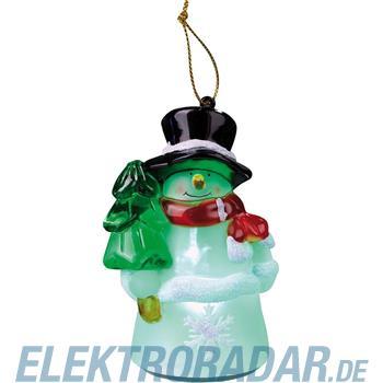 Hellum Glühlampenwer LED-Schneemannfigur 567564