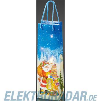 Hellum Glühlampenwer Deko-Tasche Weihnachtsmann 571011