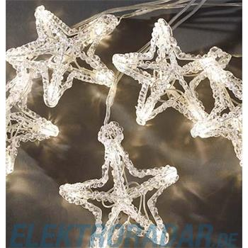 Gnosjö Konstsmide WB LED Sternen Lichtervorhang 4442-103