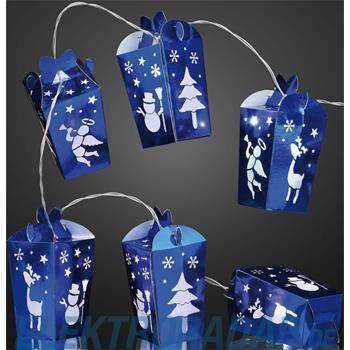 Hellum Glühlampenwer LED-Lichterkette 10-flg. 520279