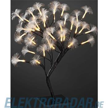 Hellum Glühlampenwer Fiberoptik-Baum m. Blüten 520125
