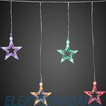 Hellum Glühlampenwer LED-Sternenvorhang 10-flg. 576115