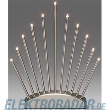 Gnosjö Konstsmide WB LED Metallleuchter gebürst 3537-900TR