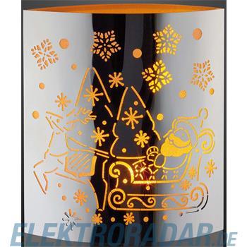 Hellum Glühlampenwer LED-Deko Weihnachtsmann 520583