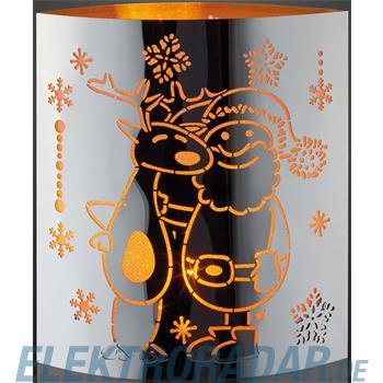 Hellum Glühlampenwer LED-Deko Rentier 520569