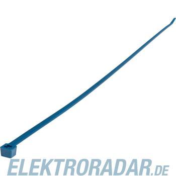 HellermannTyton Kabelbinder MCTS100-PA66SS-BU-C1
