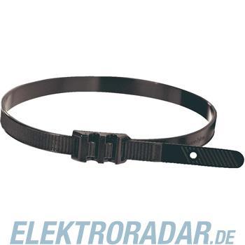 HellermannTyton Flachprofilkabelbinder LPH942-PA11-BK-C1