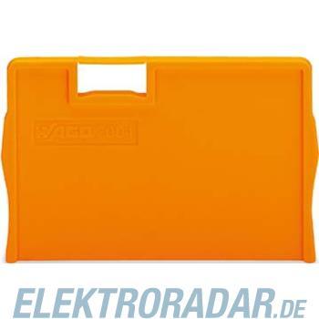 WAGO Kontakttechnik Trennplatte orange 2004-1294